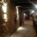 Trattoria osenna: vista muro portante originario dopo restauro
